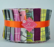 Jelly roll New York bandes de tissu pour patchwork