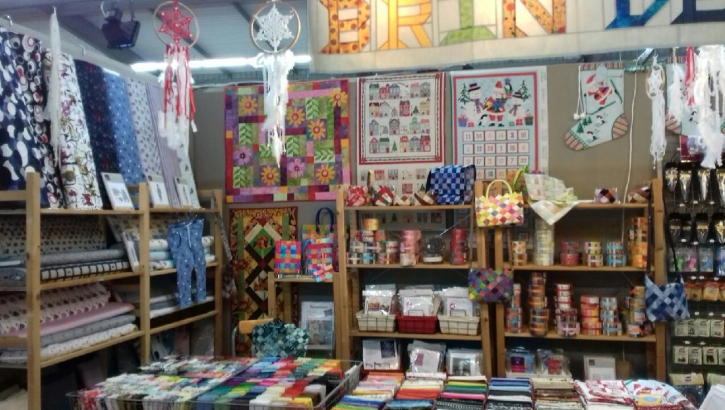 Salon du patchwork exposition de quilts et jelly rolls
