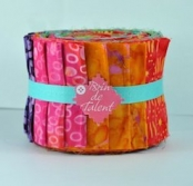 Bali roll Rio un jelly roll batik