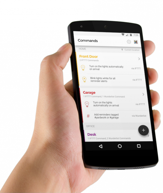 The Commands Feature of the Hynt App for Android
