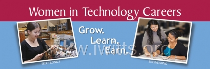 Women in Technology Careers Banner
