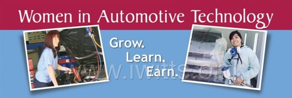 Women in Automotive Technology Banner