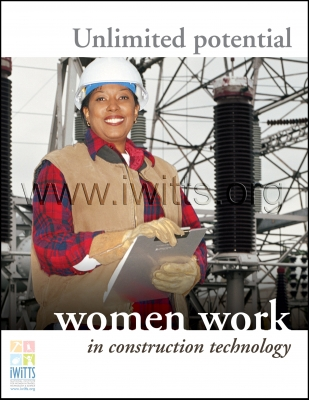 Women Work in Construction Technology Poster