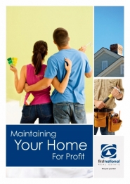 Maintaining Your Home for Profit