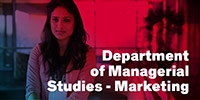 Departmetn of Managerial Studies - Marketing