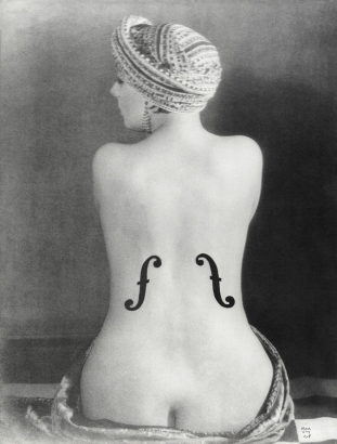 Le Violon d'Ingres, Man Ray, 1924