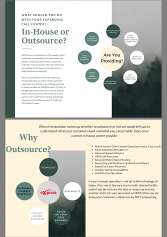 Inhouse or outsource pic