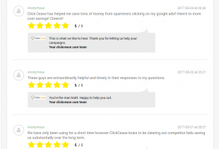 Dialogue - customer reviews
