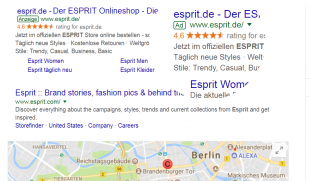 esprit seller rating