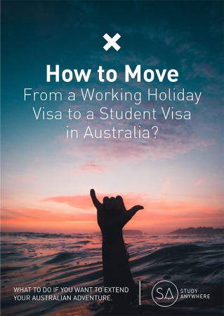 Ebook Working Holiday to Student Visa