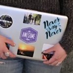 It's_Awesome_Time_Laptop_Sticker_Motivational_Mantra_Quote