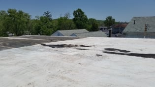 MBM Commercial Roofing Orwell OH foam roof