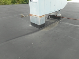MOHAWK VALLEY COATINGS commercial roofing tpo roof before