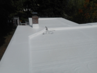 MOHAWK VALLEY COATINGS commercial roofing flat roof after