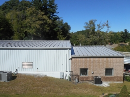 MOHAWK VALLEY COATINGS commercial roofing metal roof before
