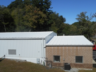 MOHAWK VALLEY COATINGS commercial roofing metal roof after