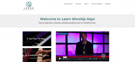 Learn Worship Keys