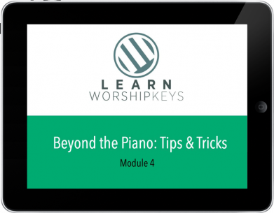 Learn Worship Keys