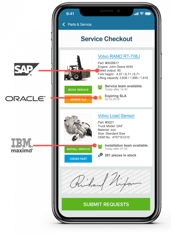 AppGyver Enterprise Apps SAP | Oracle | IBM
