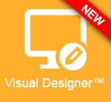 Try the new Visual Designer™