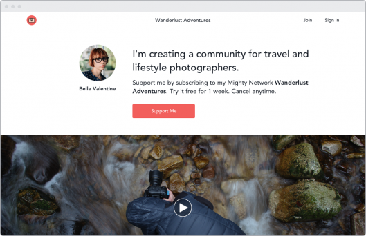 Create a Photographer Community