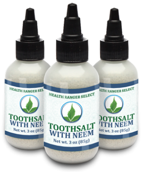 Health Ranger Select Toothsalt with neem 3-pack