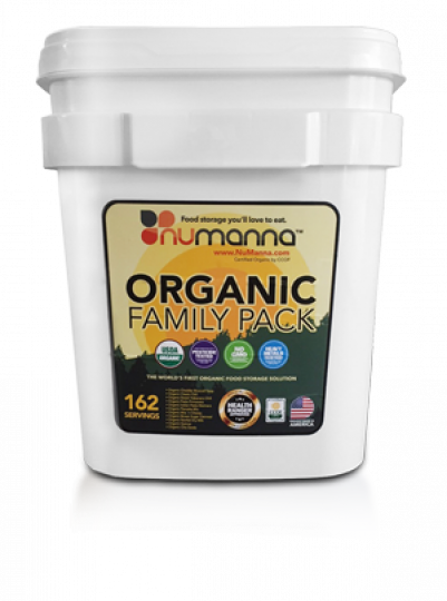 Numanna Organic Family Pack Bucket