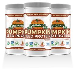 Health Ranger Select Organic Pumpkin Seed Protein Powder 3-pack