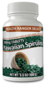 Hawaiian Spirulina Cold Pressed 500mg Tablets