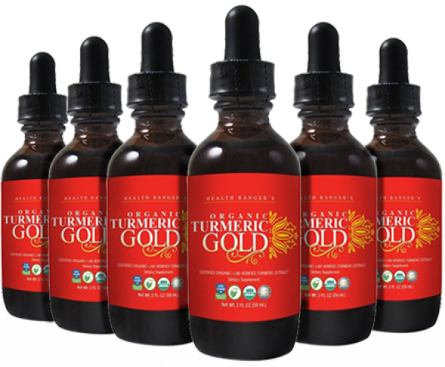 6-PACK OF ORGANIC TURMERIC GOLD