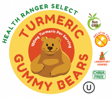 turmeric gummy bear