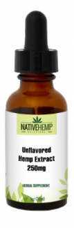 Unflavored Hemp Extract 250mg