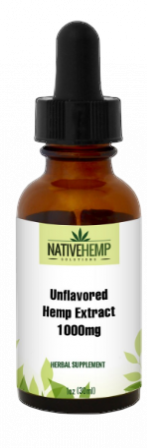Unflavored Hemp Extract 1000mg