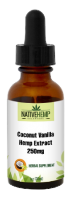 Coconut Vanilla Hemp Extract 250mg