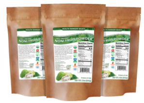 organic noni fruit powder