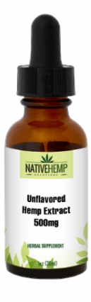 Unflavored Hemp Extract 500mg