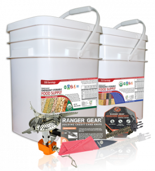 Ranger Bucket - Organic Emergency Storable Food Supply