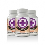 Health Ranger's Nutrition Rescue Non-GMO Vitamin C 60 caps 3 pack