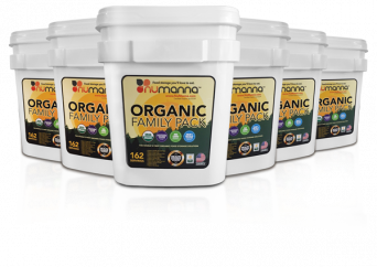Numanna Organic Family Pack 6 pcs Bucket