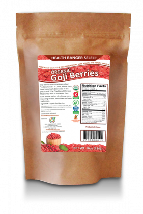 Health Ranger Select Organic Goji Berries 16 oz