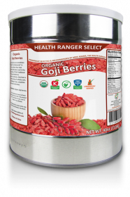 Organic Goji Berries (40oz, #10 can)