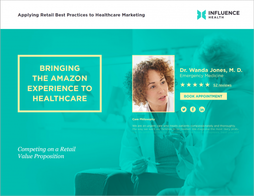 Bringing the Amazon Experience to Healthcare