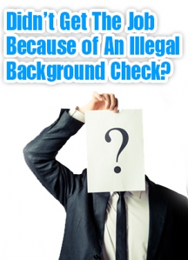 Illegal Back Ground Check