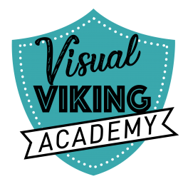 VISUAL VIKING ACADEMY LOGO