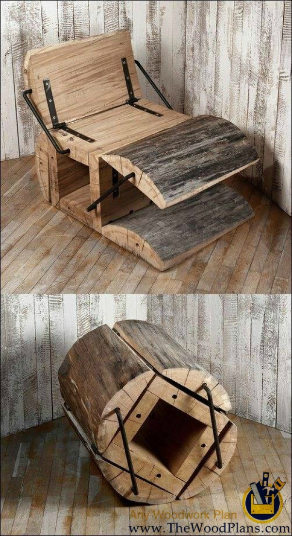 chair-made-from-a-log