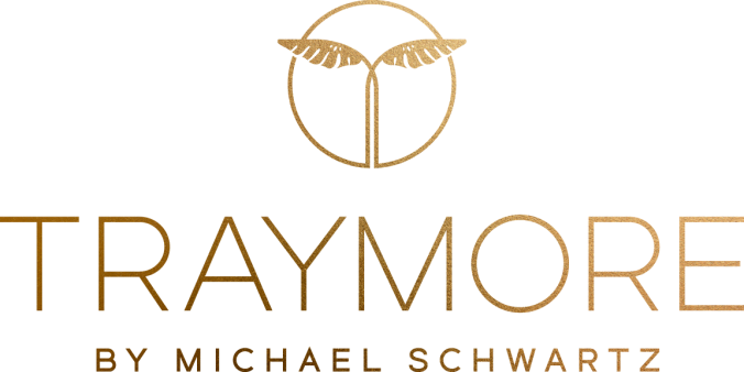 Traymore logotype with icon