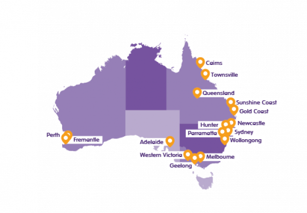 HCA NDIS Office Locations_Map