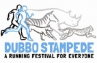 Dubbo Stampede Logo: A Running Festival for Everyone