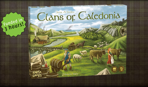 Clans of Caledonia Box