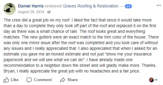 rockwall roofing contractor company roof repair best company near me tx roofer facebook review 6